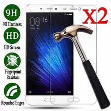 2X 9H Premium Tempered Glass Screen Protector Cover Film For Xiaomi Redmi 4X