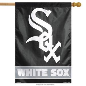 """Chicago White Sox MLB Vertical House Flag Baseball Licensed 28"""" x 40"""""""
