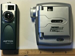 One (1) Aiptek Pocket Digital Camera●PCM13 or Pocket DV II●1.3MP●New (from 2003)