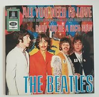 """THE BEATLES 2019 : ALL YOU NEED IS LOVE ♦  GERMANY 1967 (Remastered 7"""")"""