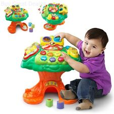 Kids Learning Activity Table Toddler Tree Teach Music Number Animals Fruits Book