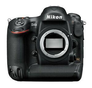 Profi DSLR Nikon D4S 16.2 MP Gehäuse GEBRAUCHTWARE mit 298.506 Auslösungen