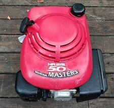 Honda HR215 Masters HXA Lawnmower Engine GXV140 Motor w/ Roto Blade Brake Stop