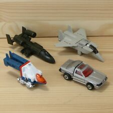 VINTAGE 1980's POPY GO-BOTS TRANSFORMER ACTION FIGURES FOR PARTS - LOT OF 4