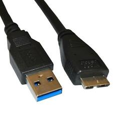 USB 3.0 SYNC DATA TRANSFER CHARGER CABLE FOR EMC IOMEGA PRESTIGE 1TB 35188 HDD