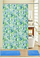New ListingWaverly Floral Shower Curtain with Hooks Fabric Birds Blooms 13 Pc