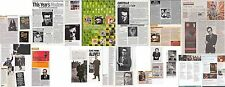 ELVIS COSTELLO : CUTTINGS COLLECTION -clippings-