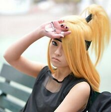 Deidara anime wigs the tail masked ball + Coser wig cap