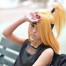 Deidara anime wigs the tail masked ball + Coser wig cap