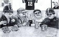 Da Super Fans poster SNL Chris Farley -Steelers version