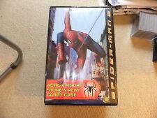 SPIDER MAN 2 Action Figure di memorizzare e riprodurre Custodia di trasporto