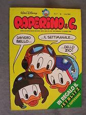 PAPERINO E C. #   7 - 16 agosto 1981 - CON INSERTO - WALT DISNEY - OTTIMO