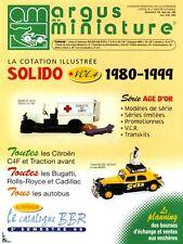 Argus de la Miniature, Spécial Solido Vol. 4