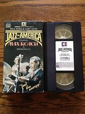 Jazz In America Max Roach - Dick Reed & Gary Keys VHS Video RARE!!!