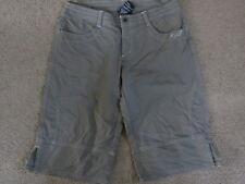 SUPER Kuhl lt olive longer shorts - womens 8