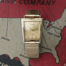 Vintage WITTNAUER By Longines Vintage Watch Asymmetrical Fancy Case Running Good