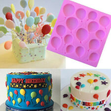 Silicone Balloons Fondant Cake Decorating Sugarcraft Chocolate Mold Baking Tool
