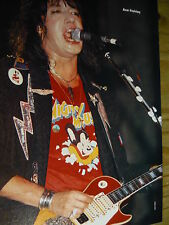 ACE FREHLEY (KISS) - MAGAZINE CUTTING (FULL PAGE PHOTO) (REF R3)