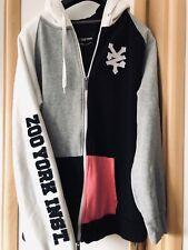 ZOO YORK  Kapuzenjacke Hoodie Größe: XL  Schwarz Weiß Grau - SKATEBOARDING