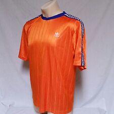 VTG Adidas Soccer Jersey Trefoil Logo Futbol Holland Germany 80's 90's Shirt XL
