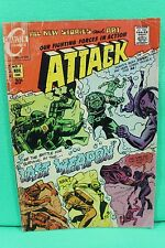 Attack #2 Our Fighting Forces in Action War Comic by Charlton Comics VG