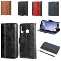 For Huawei P30/ P20 lite Pro Wallet Flip Leather Case Cover Card Holder Stand