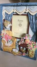 Farm House 3D Photo Frame Handcrafted Exquisite Detail Grandmas Reading Chair EC