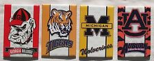 USA College NCAA Football Team Kühlschrank Magnete Schilder 4 Stück Set