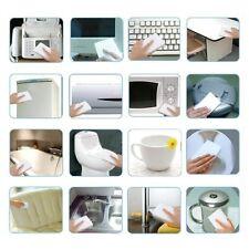 100pcs White Multi-functional Magic Sponge Eraser Cleaner 100 x 60 x 20mm VW