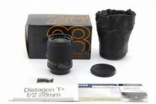 【AB Exc+】 CONTAX Carl Zeiss Distagon 28mm f/2 AEG Lens in Box From JAPAN #3067