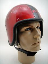 RARE 60's 70's LES LESTON VTG Racing F1 HELMET  Motorcycle KANGOL RACER ROCKER