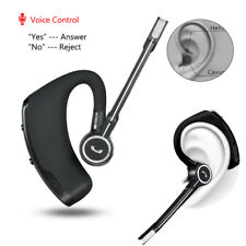 Voice Control Bluetooth Headset Earphone Headphone for iPhone Samsung Lg Asus