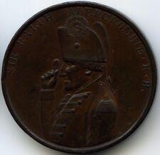 Consulat Napoleon Bonaparte Médaille Mort du général Abercromby 1801