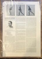 HARPER'S WEEKLY 1894 - YALE HARVARD NINE - COLLEGE - BASEBALL