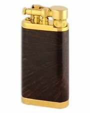 IM Corona Old Boy Pipe and Cigar Lighter Gold Chestnut Smooth Briar 29748