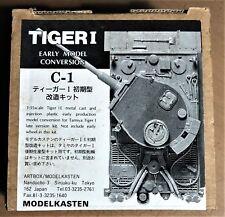 MODELKASTEN C-1 - TIGER I - EARLY MODEL CONVERSION - 1/35 PLASTIC KIT