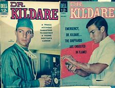 Dr. Kildare #6 and #7 Photo Covers Dell-1963-No Reserve-Solid, Tight & Complete