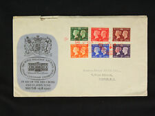 GB 1940 Royal Philatelic Society Centenary Stamp Exhibition FDC Red Cross