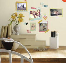 BEST FRIENDS wall stickers 66 decals photo picture frames BFF room decor teen