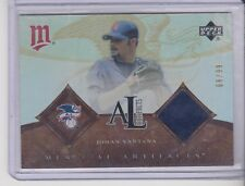 2005 Upper Deck Artifacts AL Johan Santana Jersey 66/99 Minnesota Twins