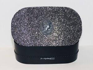 MAC Glittery Hard Case Makeup Holder Empty Box New