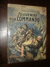 """SOUVENIRS D'UN COMMANDO - Jean Carriére 1949 - Coll. """"Patrie"""" n°80"""