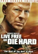 Live Free Or Die Hard 4 Bruce Willis Dvd Movie Justin Long New Seal Fs Free S/H