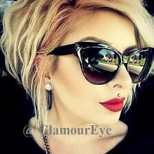 Large Cat Eye Rockabilly WaYfe Fashion Mohotani PinUp Big Women Sunglasses 018 L