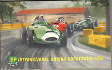 BP International Racing Successes 1958 Racing Rally Grand Prix Motor Cycle +