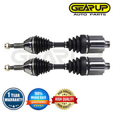 Pair Front CV Axle Joint Assembly LH RH For Chevy Cobalt LS LT Base Auto Trans