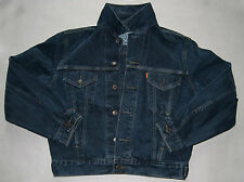 Levis jeans jacket . RED TAB . used . size S . Leather tab on back