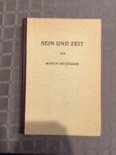 Sein Und Zeit Von Martin Heidegger 1949 Excellent Condition