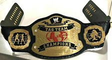 WWE World Tag Team Wrestling Championship Belt Replica with bag