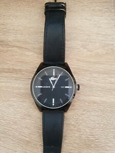 Lacoste Men's 2010598 Montreal Black Leather Watch